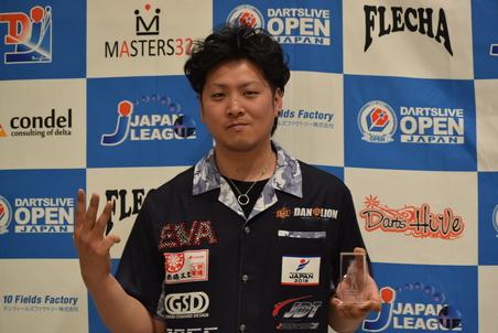 Masters 男子 3位