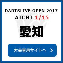 DARTSLIVE OPEN 2017 AICHI 1/15 愛知 大会専用サイトへ